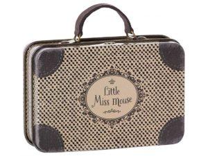 20 7016 valisette métallique little miss mouse maileg